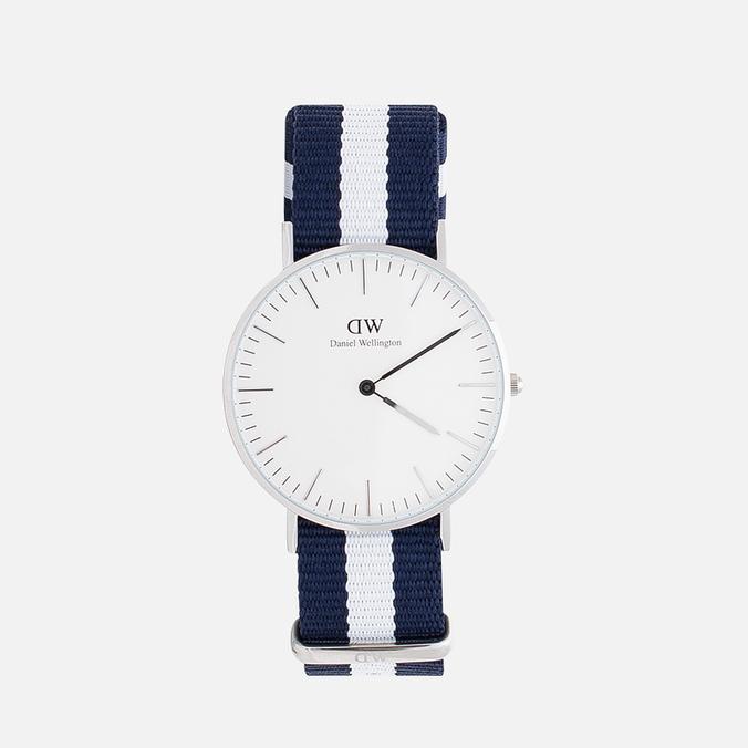 Женские наручные часы Daniel Wellington Classic Glasgow Silver