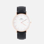 Женские наручные часы Daniel Wellington Classic Sheffield Rose Gold фото- 0