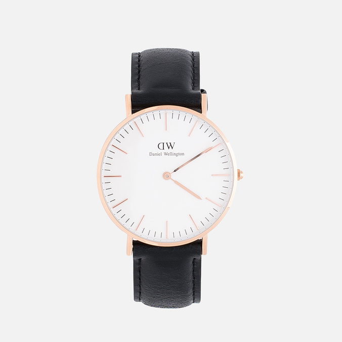 Женские наручные часы Daniel Wellington Classic Sheffield Rose Gold