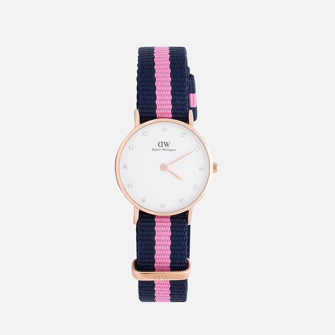 Женские наручные часы Daniel Wellington Classy Winchester 26 mm Rose Gold