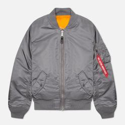 Женская куртка бомбер Alpha Industries MA-1 Gunmetal