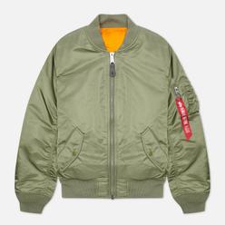 Женская куртка бомбер Alpha Industries MA-1 Sage