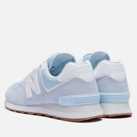Женские кроссовки New Balance WL574PE2 Blue/White