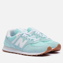 Женские кроссовки New Balance WL574PS2 Mint/White