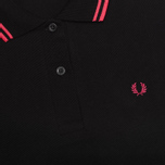 Женское поло Fred Perry Laurel G5801 Black фото- 2