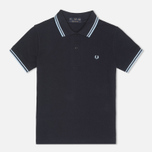 Fred Perry Laurel G5801 Women's Polo Navy/Ice/Ice photo- 0
