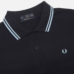 Fred Perry Laurel G5801 Women's Polo Navy/Ice/Ice photo- 1