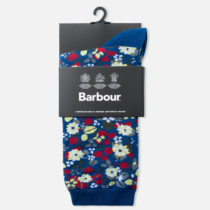Носки Barbour British Waterways Garter Blue