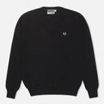 Женский свитер Fred Perry Laurel Classic V Neck Black фото- 0