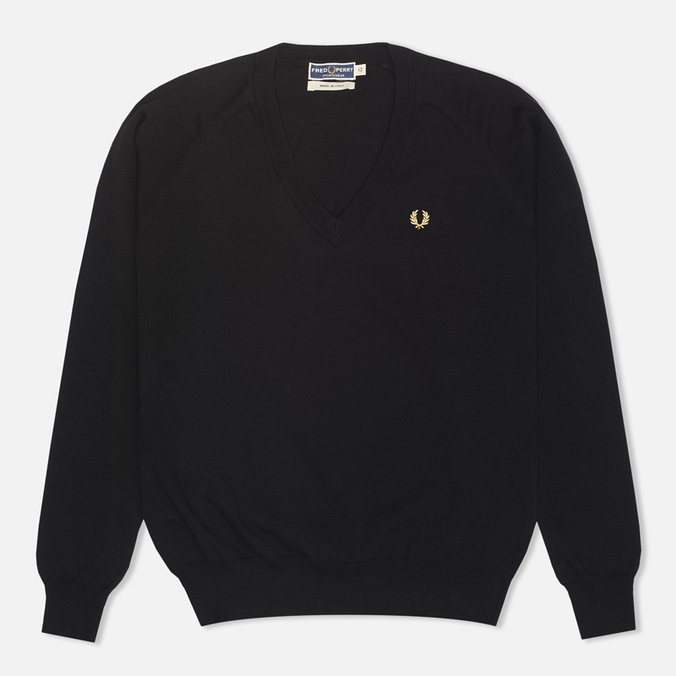 Женский свитер Fred Perry Laurel Classic V Neck Black
