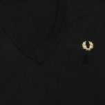 Женский свитер Fred Perry Laurel Classic V Neck Black фото- 2