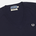 Женский свитер Fred Perry Laurel Classic V Neck Navy фото- 1
