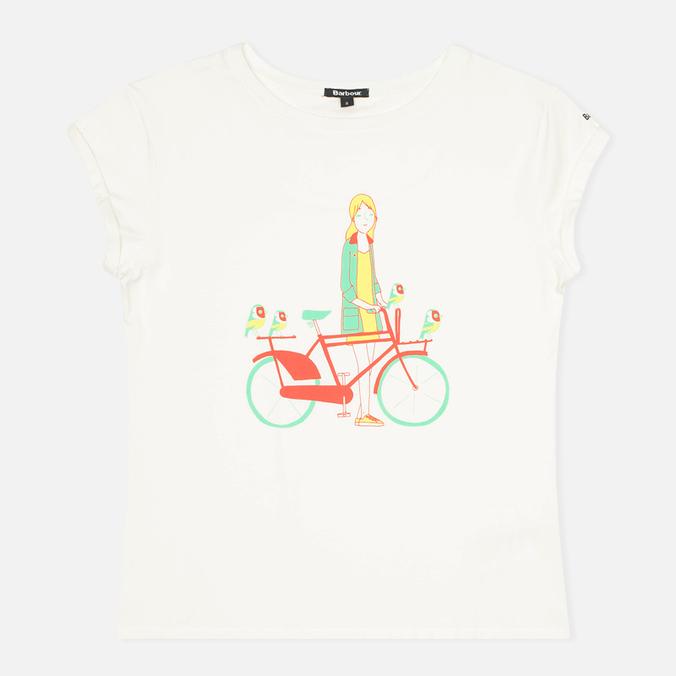 Женская футболка Barbour Beadnell&Goldfinch Snow
