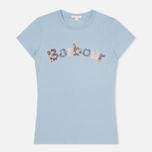 Женская футболка Barbour Freya Pale Blue фото- 0