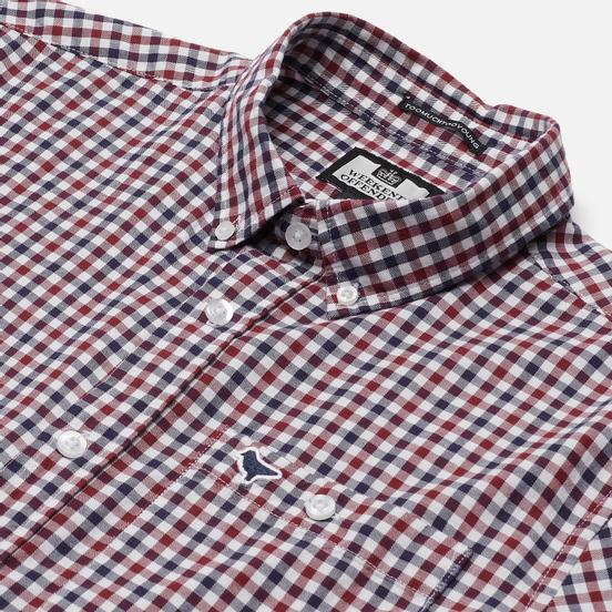 Мужская рубашка Weekend Offender Check Burgundy Check