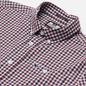 Мужская рубашка Weekend Offender Check Burgundy Check фото - 1