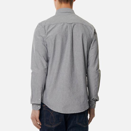 Мужская рубашка Weekend Offender Pallomari Cotton Oxford Navy
