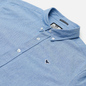 Мужская рубашка Weekend Offender Pallomari Cotton Oxford Pale Blue фото - 1