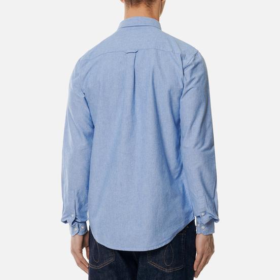 Мужская рубашка Weekend Offender Pallomari Cotton Oxford Pale Blue