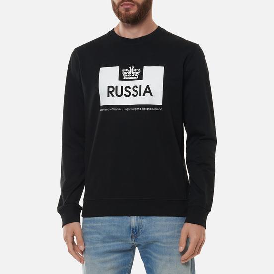 Мужская толстовка Weekend Offender City Series 2 Euro Russia Black