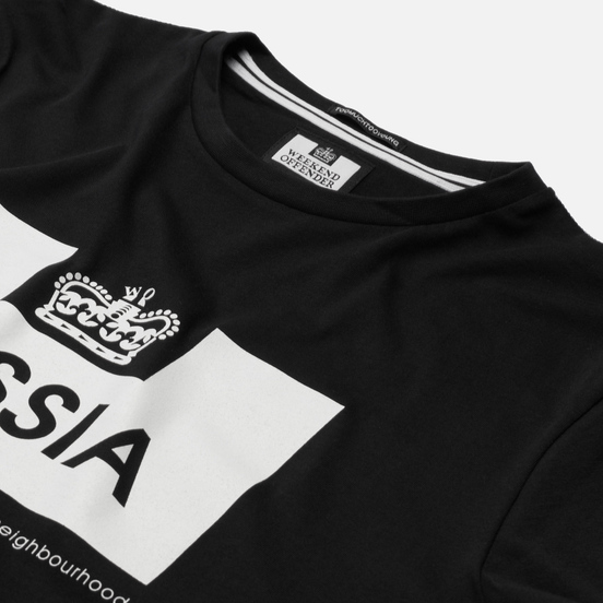 Мужская футболка Weekend Offender City Series 2 Euro Russia Black