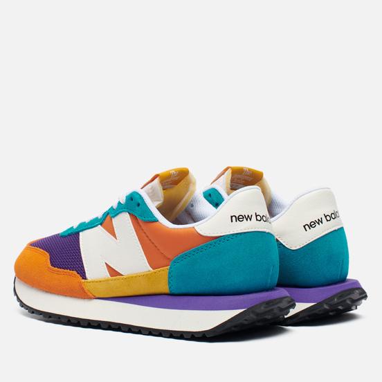 Женские кроссовки New Balance WS237PK1 Patchwork Prep Multi-Color/Purple/Orange/Green