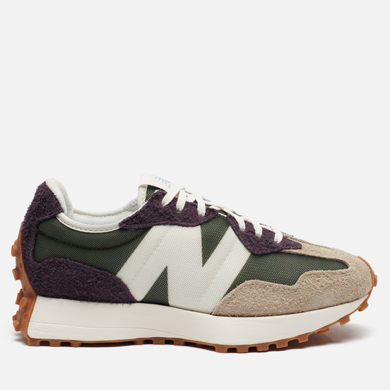 Женские кроссовки New Balance 327 70s Inspired Olive/Grey