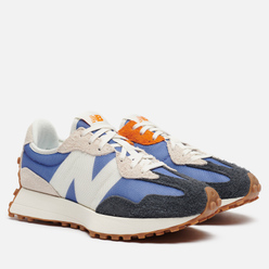 Женские кроссовки New Balance 327 70s Inspired Magnetic Blue/Varsity Orange