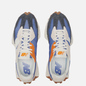 Женские кроссовки New Balance 327 70s Inspired Magnetic Blue/Varsity Orange фото - 1