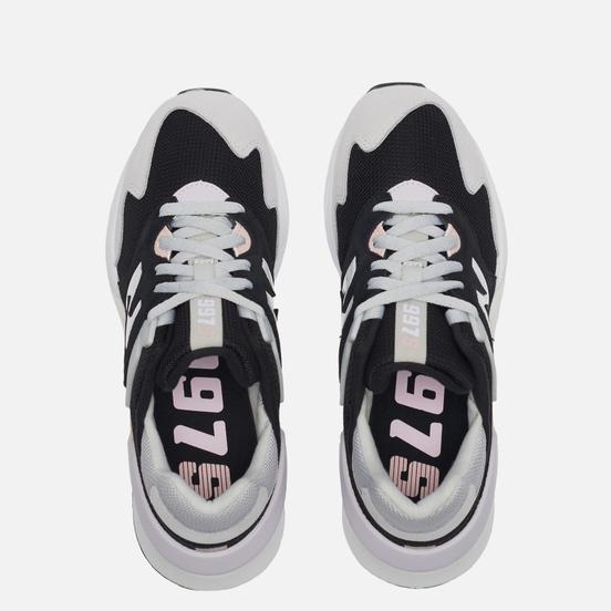 Женские кроссовки New Balance WS997JKQ Light Aluminum/Space Pink/Black