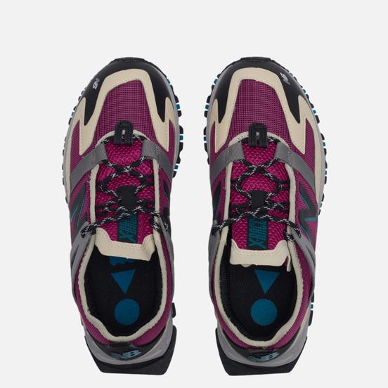 Женские кроссовки New Balance X-Racer Utility Purple/Beige/Grey