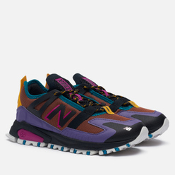 Женские кроссовки New Balance X-Racer Utility Brown/Purple/Black