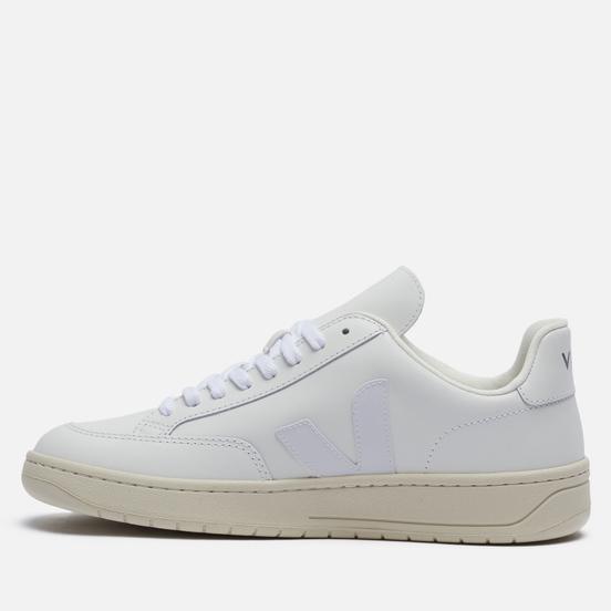 Мужские кроссовки VEJA V-12 Leather Extra White
