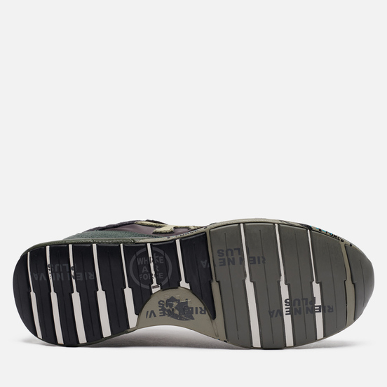 Мужские кроссовки Premiata Zac-Zac 5018 Dark Grey