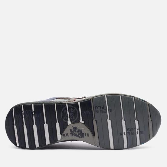 Мужские кроссовки Premiata Zac-Zac 5366 Grey/Black/Brown