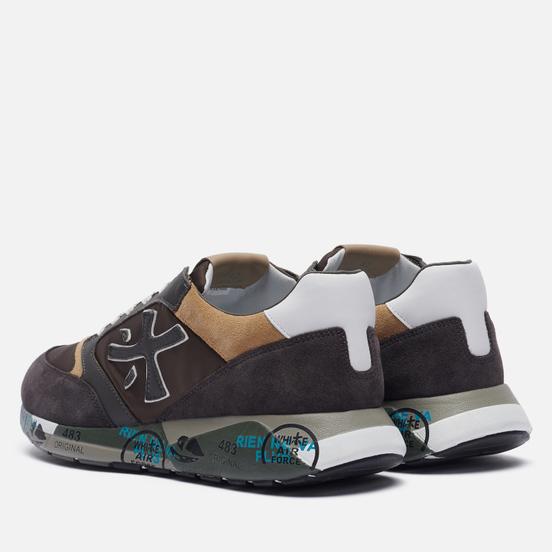 Мужские кроссовки Premiata Zac-Zac 5368 Grey/Brown