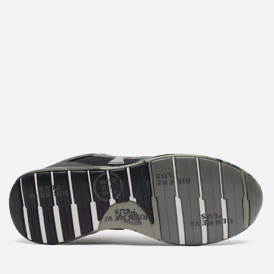 Мужские кроссовки Premiata Zac-Zac 4068 Black