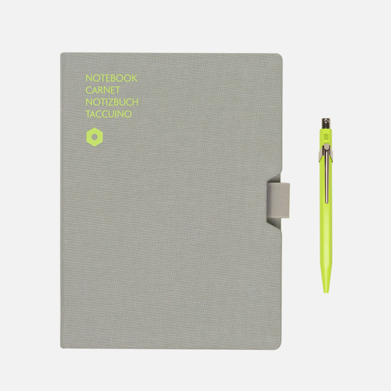 Записная книжка Caran d'Ache Office A5 Line 192 pgs Grey