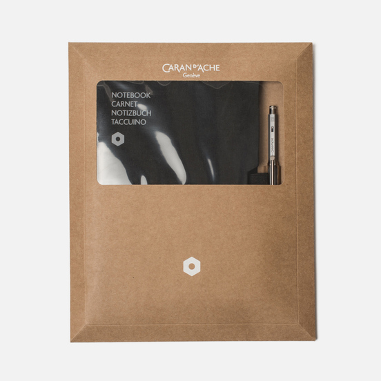 Записная книжка Caran d'Ache Office A5 Line 192 pgs Black