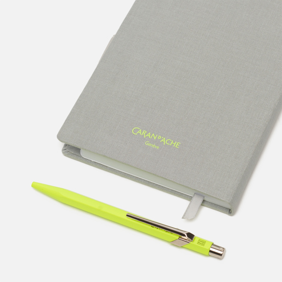 Записная книжка Caran d'Ache Office A6 Line 192 pgs Grey