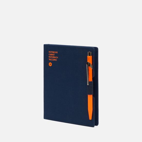 Записная книжка Caran d'Ache Office A6 Line 192 pgs Navy