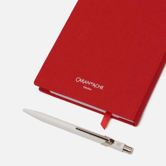 Записная книжка Caran d'Ache Office A6 Line 192 pgs Red
