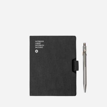 Записная книжка Caran d'Ache Office A6 Line Black 192 pgs