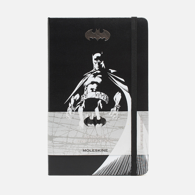 Записная книжка Moleskine Batman Large Black 240 pgs