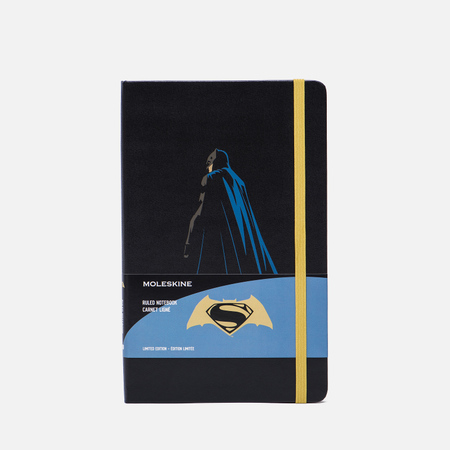Записная книжка Moleskine Batman vs Superman Large Limited Edition Black Batman 240 pgs