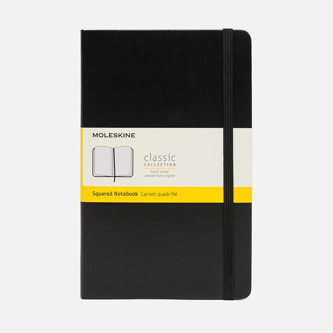 Записная книжка Moleskine Classic Large Squared Black 240 pgs