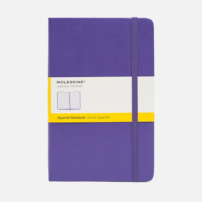 Записная книжка Moleskine Classic Large Squared Purple 240 pgs