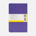 Записная книжка Moleskine Classic Large Squared Purple 240 pgs фото- 1