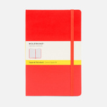 Moleskine Classic Large Squared Notebook Red 240 pgs photo- 0