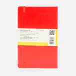 Moleskine Classic Large Squared Notebook Red 240 pgs photo- 1